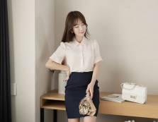 Áo sơ mi nữ Hàn Quốc Fiona m2103