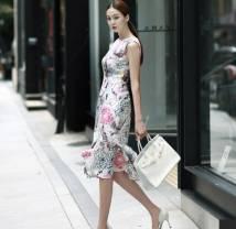 váy liền thân Hàn Quốc Dint D3104