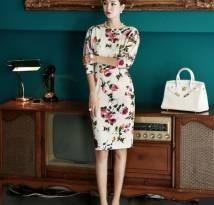 váy liền thân Hàn Quốc Dint D3105