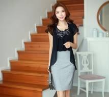 Áo Vest nữ Hàn Quốc Dress SA16CD10