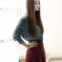 Áo sơ mi nữ Hàn Quốc Dint  B1838
