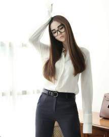 Áo sơ mi nữ Hàn Quốc Dint  B1839