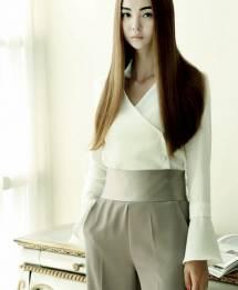 Áo sơ mi nữ Hàn Quốc Dint  B1837