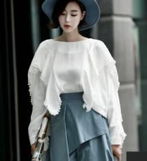 Áo sơ mi nữ Hàn Quốc Dint  B1845