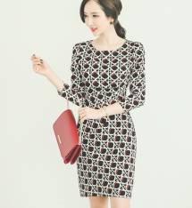 Váy liền thân Hàn Quốc Ode 230801
