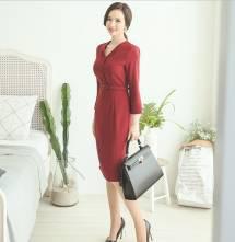 Váy liền thân Hàn Quốc Ode 230802