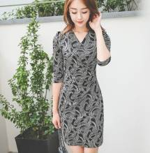 Váy liền thân Hàn Quốc Ode 230806