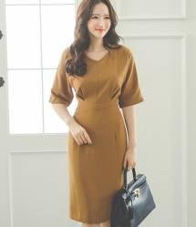 Váy liền thân Hàn Quốc Ode 230811