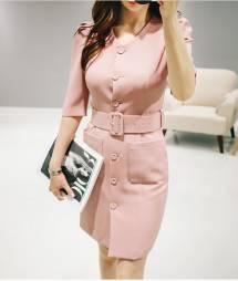 Váy liền thân Hàn Quốc Oran 230822