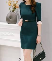 Váy liền thân Hàn Quốc Oran 230829