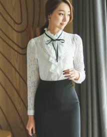 Áo sơ mi nữ Hàn Quốc Ode 100912