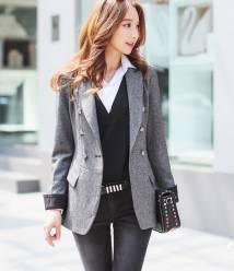 Áo Vest nữ Hàn Quốc Dressroom 120909