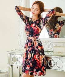 Váy liền thân Hàn Quốc  styleonme 120936