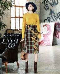 Chân váy nữ Hàn Quốc Dint SK1349