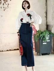 Chân váy nữ Hàn Quốc Dint SK1358