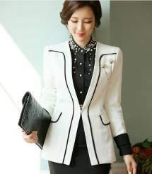 Áo khoác nữ Hàn Quốc Dressroom 250903