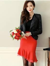 Áo khoác nữ Hàn Quốc Dressroom 250906