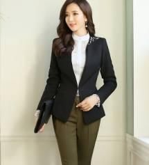 Áo khoác nữ Hàn Quốc Dressroom 250907