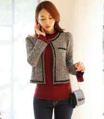 Áo khoác nữ Hàn Quốc Dressroom 250908