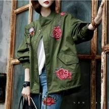 Áo khoác nữ Hàn Quốc Dint  J-4133
