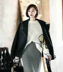 Áo khoác nữ Hàn Quốc Dint  J-4140