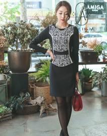 Váy liền thân Hàn Quốc Ode 01100