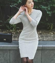 Váy liền thân Hàn Quốc Ode 011003