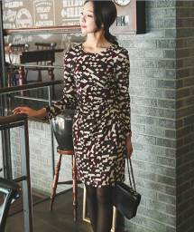 Váy liền thân Hàn Quốc Ode 011007