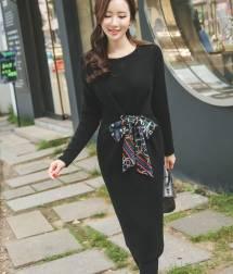 Váy liền thân Hàn Quốc Ode 261010