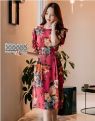 Váy liền thân Esther Hàn Quốc 210803