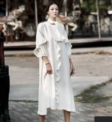 Váy liền thân Dint Hàn Quốc  D-4414
