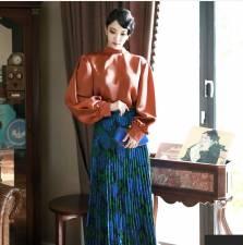 Áo sơ mi nữ Dnit Hàn Quốc B2093