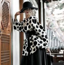 Áo sơ mi nữ Dnit Hàn Quốc B2094