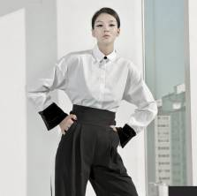 Áo sơ mi nữ Dnit Hàn Quốc S255