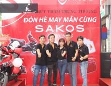 Lễ rút thăm trúng quà may mắn cùng Sakos