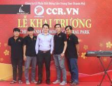 Khai trương chi nhánh Công ty BĐS CCR