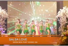 """Nghi thức cưới -  Nhảy """"Salsa love"""""""