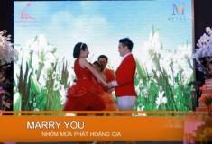 """Nghi thức cưới - Múa """"Marry you"""""""