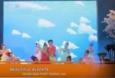 Nghi thức cưới - Vũ đoàn thiếu nhi múa Beautiful in white