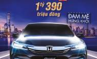 Honda Accord 2017 - Mừng xuân mới, đón giá mới.