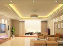 Đèn Led trong thiết kế nội thất tạo không gian sang trọng