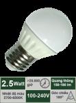 Đèn LED búp 2.5W-A