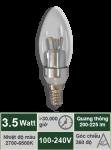 Đèn nến 3.5W-Mẫu A
