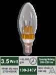 Đèn nến 3.5W-Mẫu B
