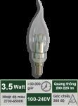 Đèn nến 3.5W-Mẫu C