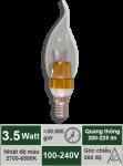 Đèn nến 3.5W-Mẫu D