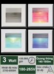 LED âm tường 3W