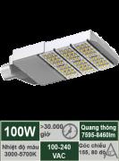 Đèn đường LED 100W-Mẫu F