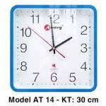 Đồng hồ treo tường Abiding AT14 (xanh biển)