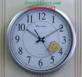 Đồng hồ treo tường Newstar N53 bạc